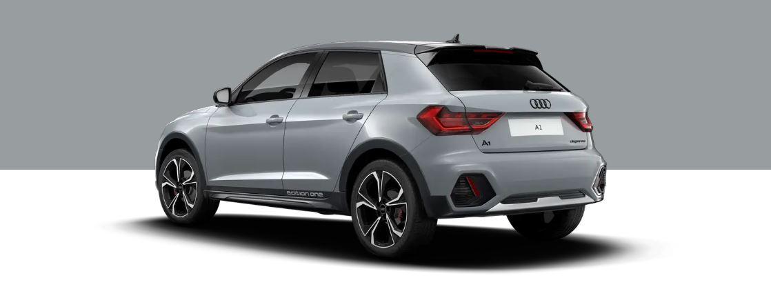 Audi A1 - hinten