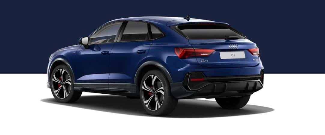 Audi Q3 Sportback - hinten