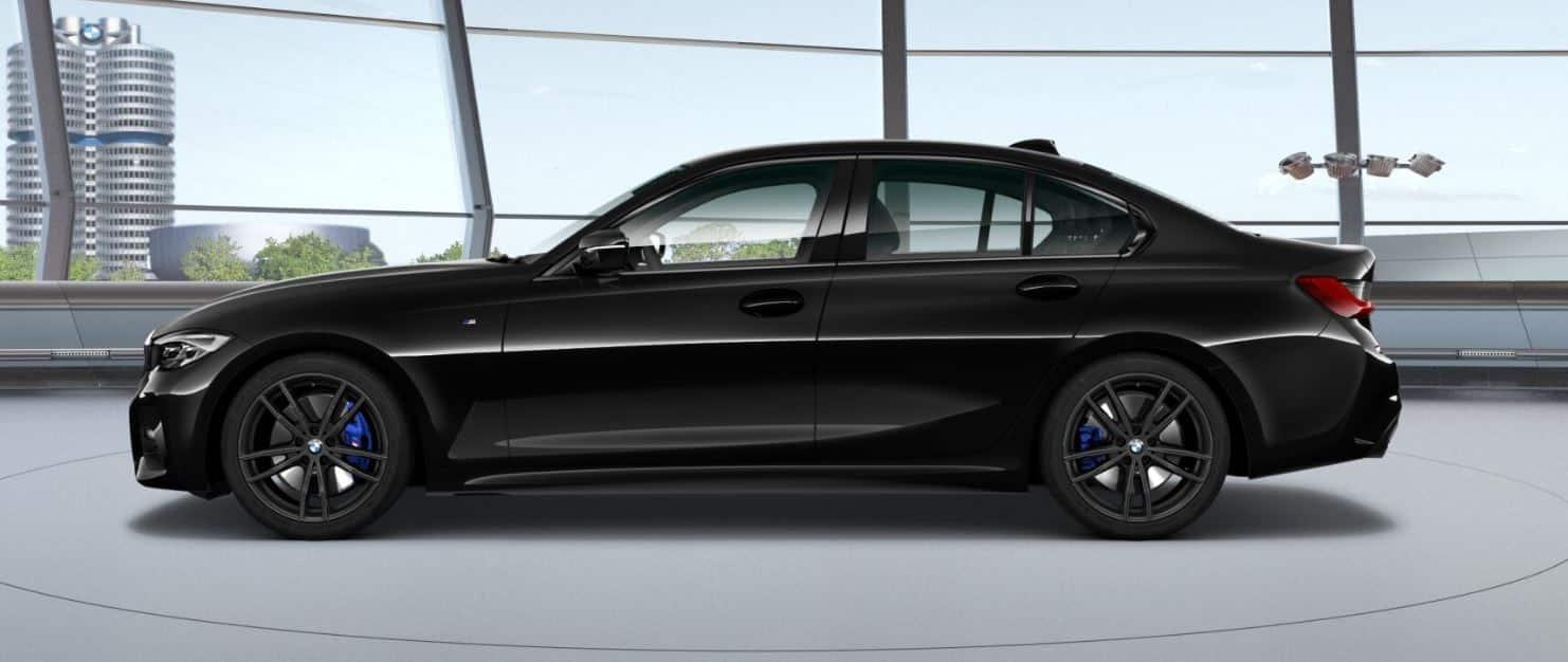 BMW 320d Seite