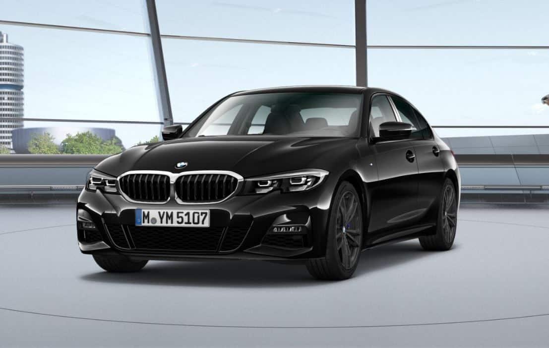 BMW 320d vorne