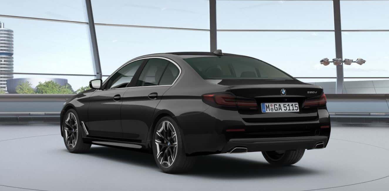 BMW 520d - hinten