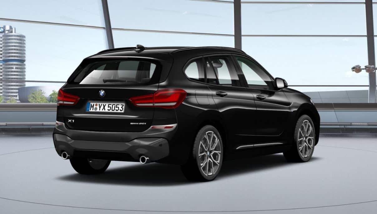 BMW X1 20i - hinten