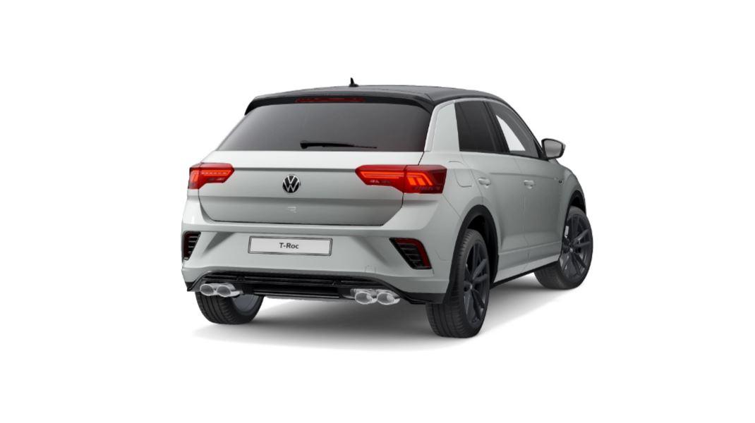 VW T-Roc - hinten